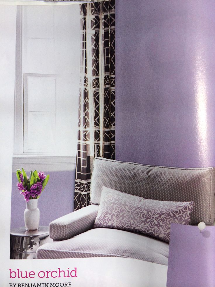 Blue Orchid By Benjamin Moore Hgtv Magazine Sept 2013