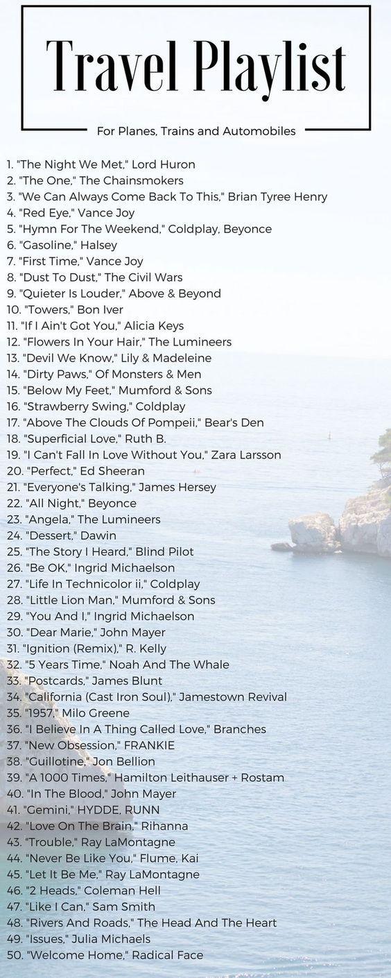 Travel Playlist