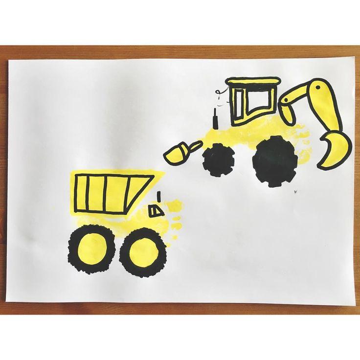 Construction Footprint Art