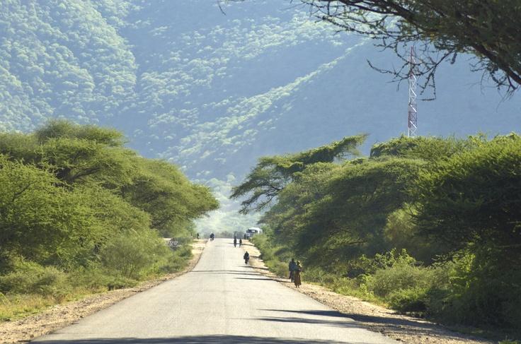 Tanzam Highway between Dar es Salaam and Iringa, near Morogoro. ©2009 Randy Haglund