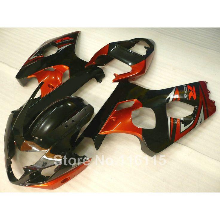 (297.00$)  Buy here  - Hot sale fairing kit fit for SUZUKI GSXR 600 750 K4 2004 2005 red black bodykits GSXR600 GSXR750 04 05 fairings set LF50