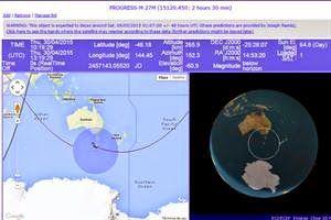 Dónde está la nave rusa que cae a Tierra fuera de control | Laser fm 94.7 necochea