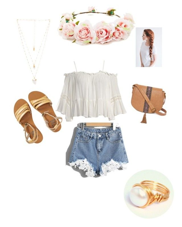 """""""Sin título #11"""" by andrearivera12 on Polyvore featuring moda, Forever 21, Sans Souci, Billabong, T-shirt & Jeans y Natalie B"""
