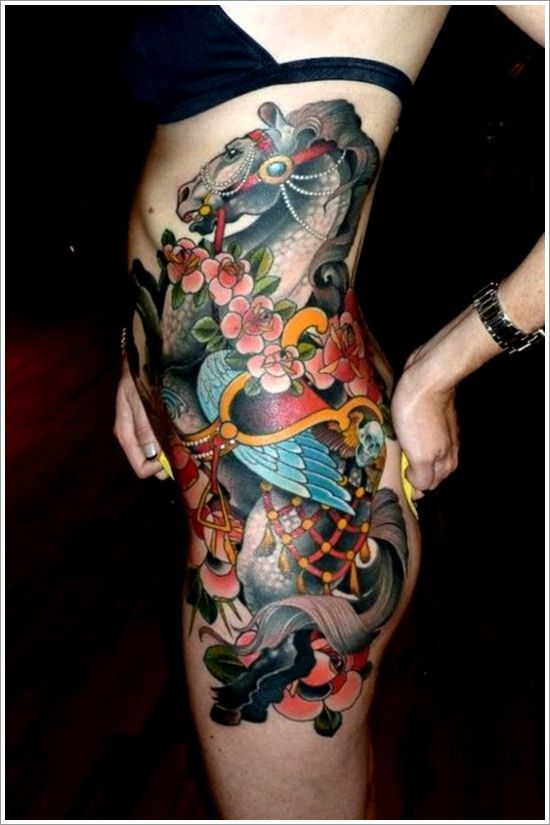 1059 best equine tattoo images on pinterest horse tattoos horses and tattoo ideas. Black Bedroom Furniture Sets. Home Design Ideas