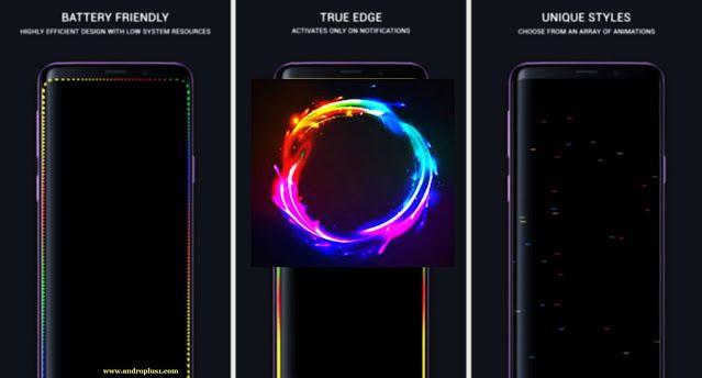 تحميل تطبيق True Edge Edge Lighting Apk لإضاءة حواف الشاشة بشكل مدهش لأجهزة الأندرويد 2020 In 2020 Edge Lighting Pad Charger Pad