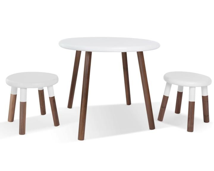 Peewee Kids Table Round Kids Table Kids Table And Chairs Kid Table