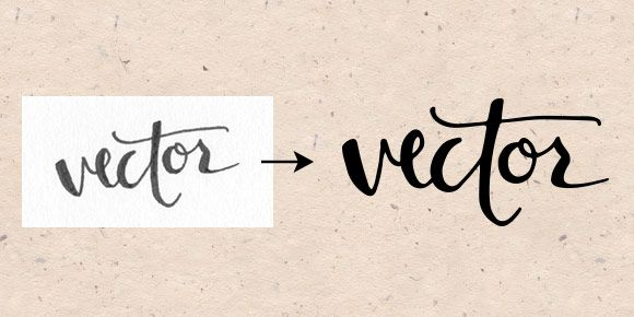 How to Vectorize Hand Lettering   Every-Tuesday