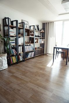 [거실 서재 인테리어]아이를 위한 북카페 스타일 거실 만들기 : 네이버 블로그