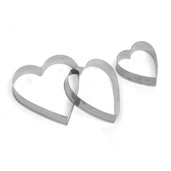 Foodcraft Pastry Cutters Heart