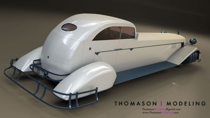 Dieselpunk Hovercar' by Travis Thomason. : ImaginaryDieselpunk