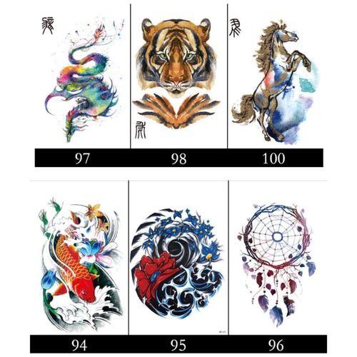 Waterproof Long Lasting Tattoo Stickers