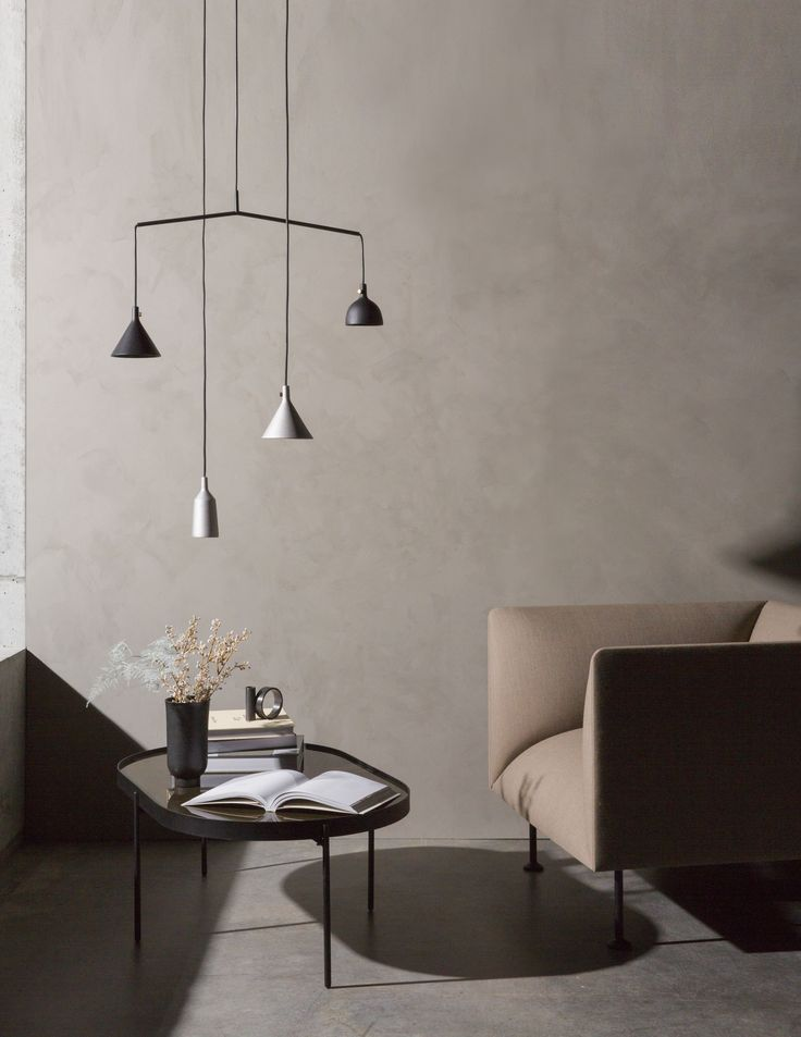 MENU SS18 | Cast Pendants, Godot 1-Seater and the NoNo Table in brown