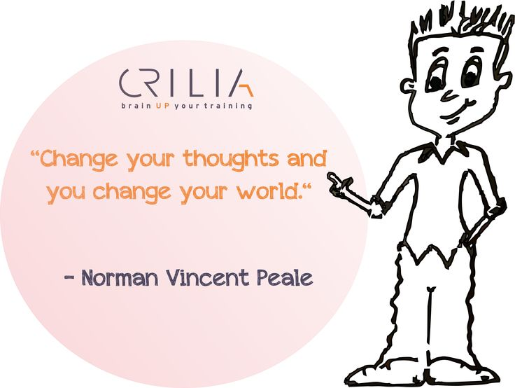 Change your thoughts and you change the world.  www.crilia.ro