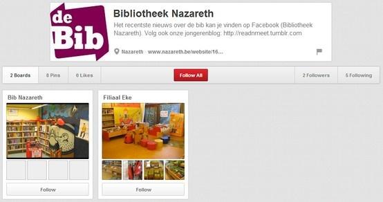 Bibliotheek Nazareth http://pinterest.com/bibnazareth/