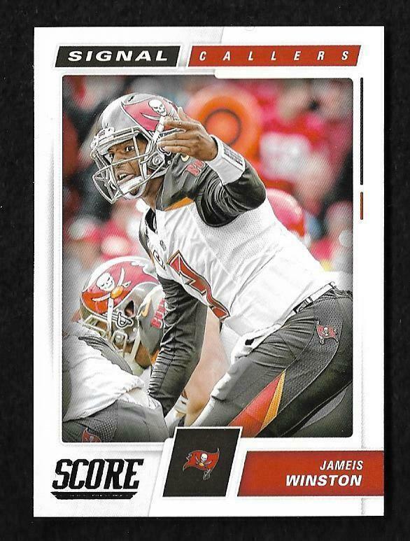 9516b73b186 2017 Jameis Winston ~ Signal Callers ~ Panini-Score Football Trading Card   19  TampaBayBuccaneers