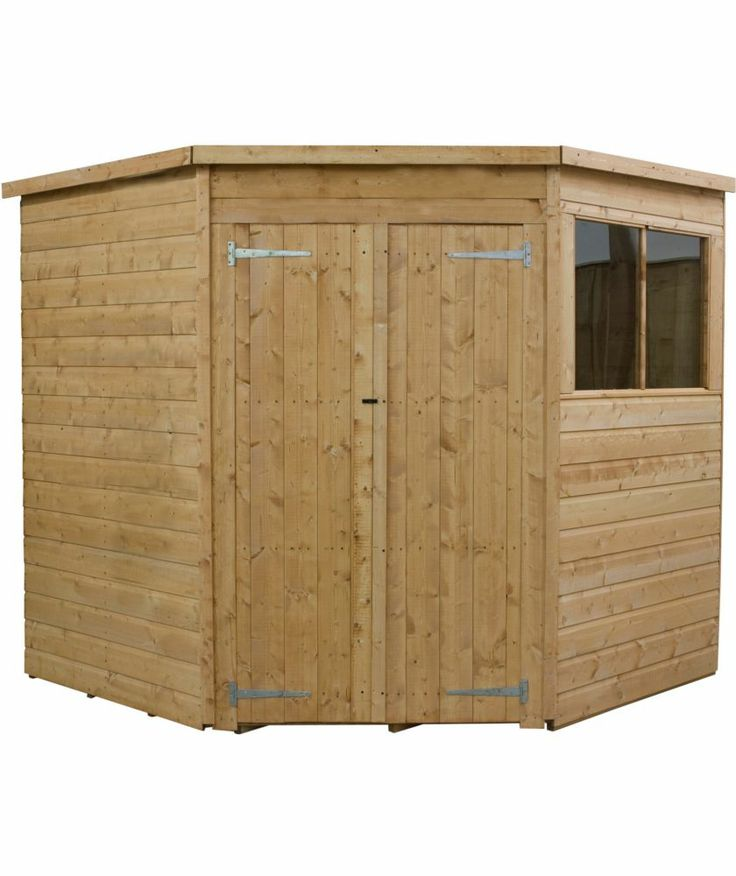 cheap corner shed donny pinterest corner garden argos and gardens