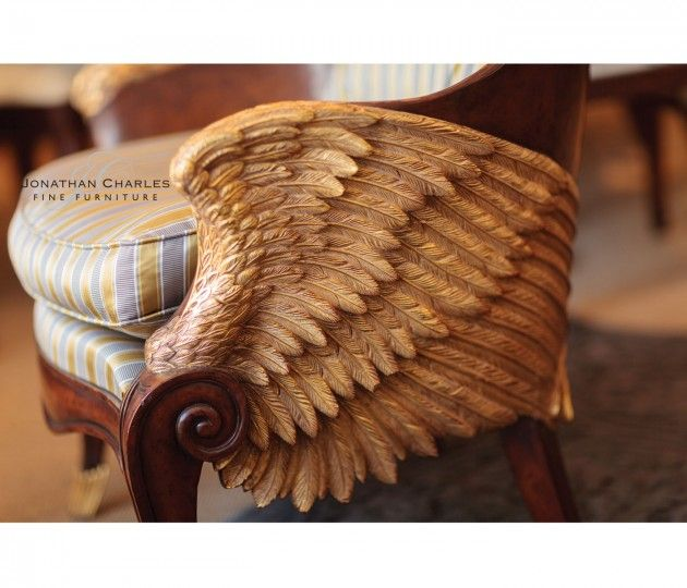 """Кресло """"Empire style winged chair"""""""