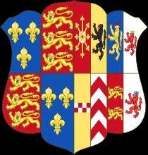 Escudo Reina Consorte de Inglaterra Ana de Cleves - Shield Queen Consort of England Anne of Cleves