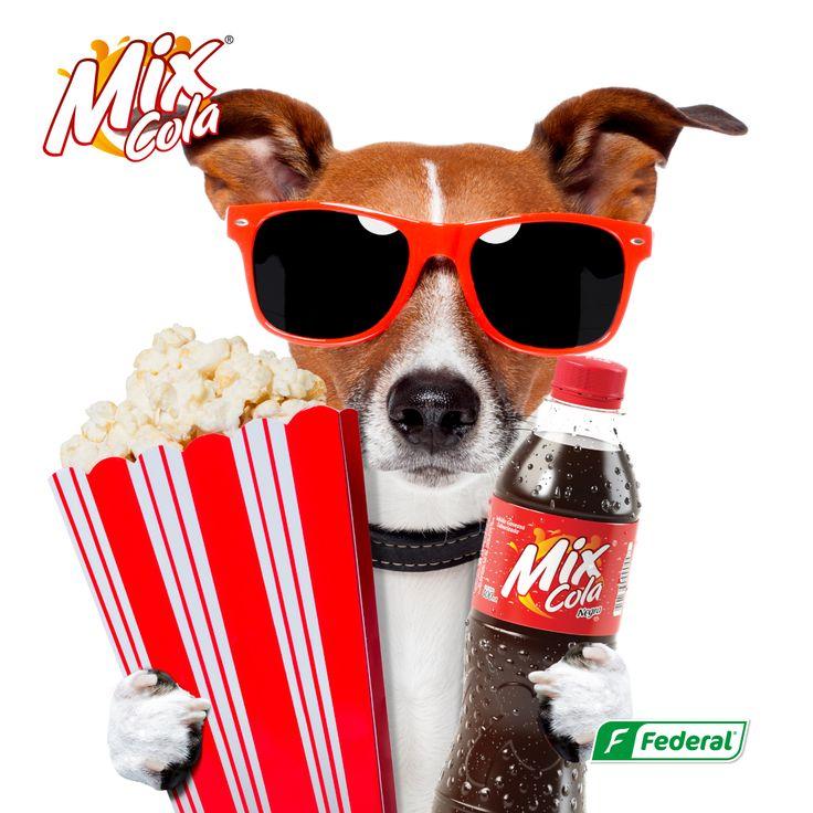 ¡Hasta ellos lo saben!  Que los cines son a mitad de precio los miércoles lo saben hasta ellos, por eso le ponen el Flow con la mezcla perfecta, palomitas y Mix Cola. ¿Y tú? ¿Cuál es tu Flow?  #dondehaymixhayflow