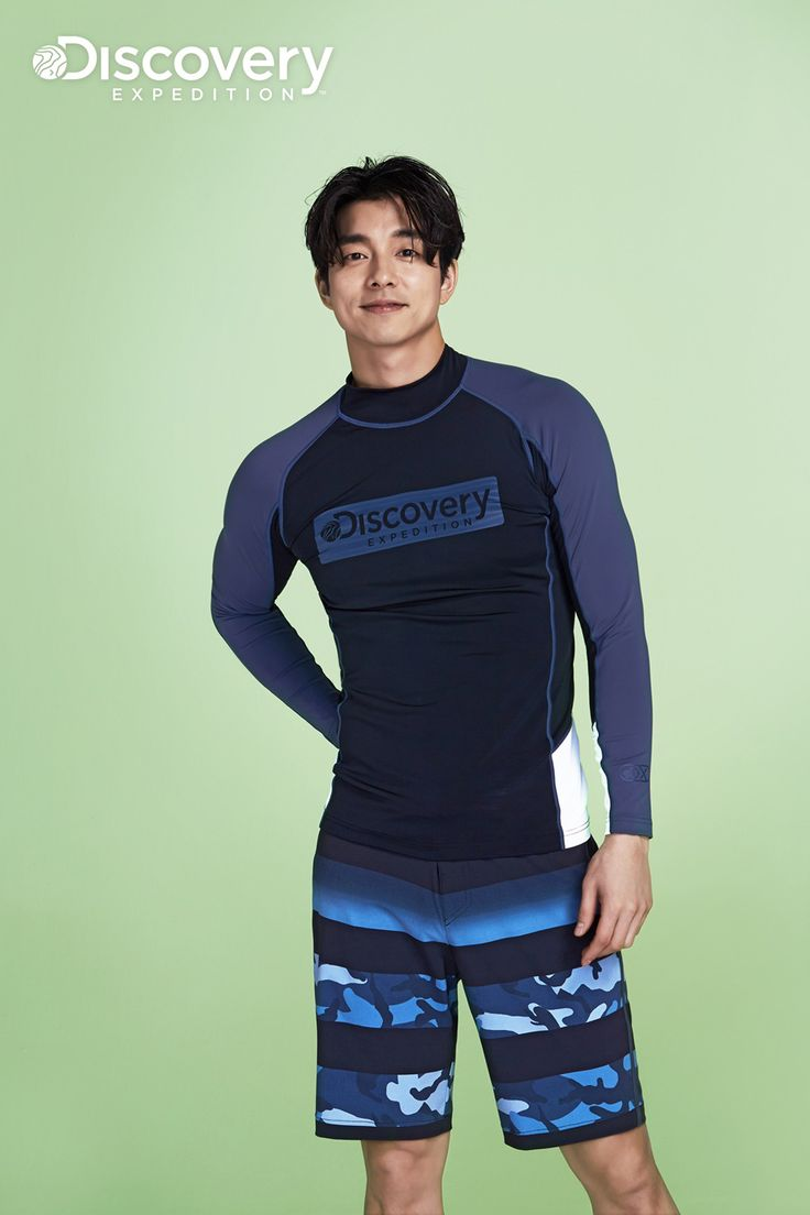Kenterin - Gong Yoo sports summer looks