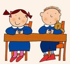 Per i bambini che vanno in prima, così teneri nella loro ingenuità, presi come sono dalla novità del leggere e dello scrivere, intenti e pre...