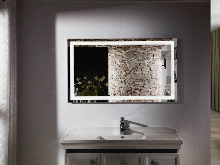 Budapest IV Lighted Vanity Mirror LED Bathroom Horizontal X