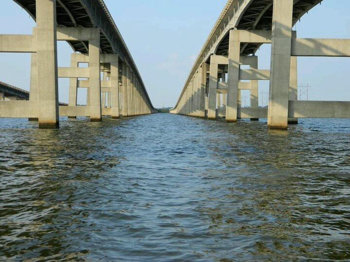 I 95 bridge over lake marion sc going down i 95 from nj for Lake moultrie fishing report