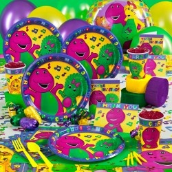 Barney and Baby Bop Birthday Party Ideas