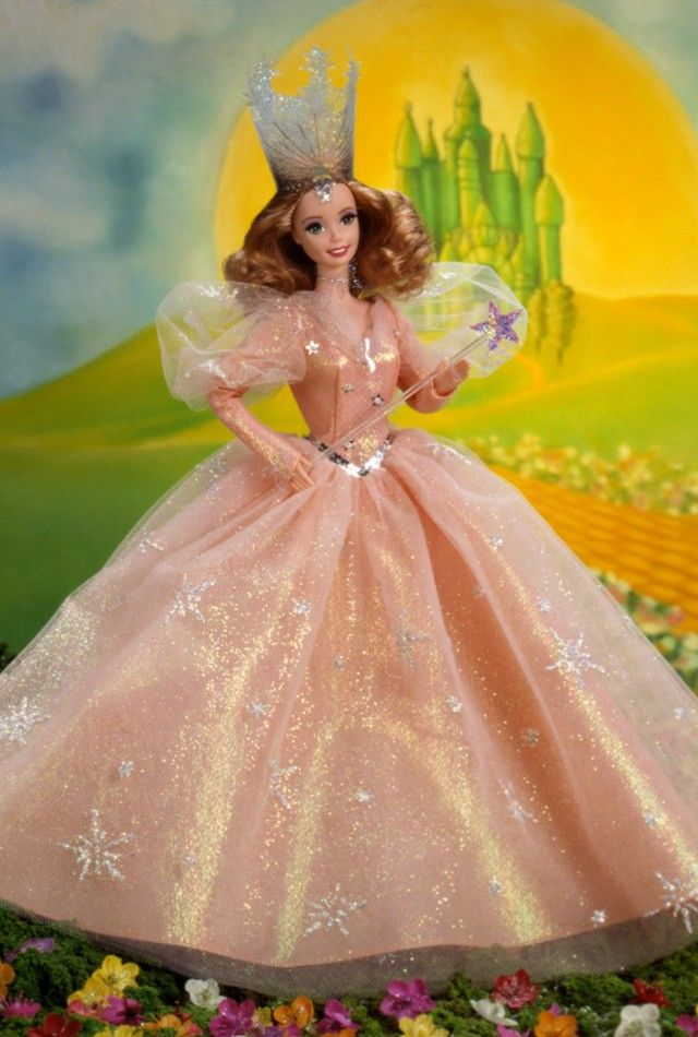 Barbie® as Glinda the Good Witch™ in The Wizard of Oz™: Collection Dolls Toys Etc, Barbie Collector, Barbie Girls, Witch, Glinda Barbie, Barbie Collection, Wizards Of Oz, Dolls Barbie, Barbie Dolls Costumes