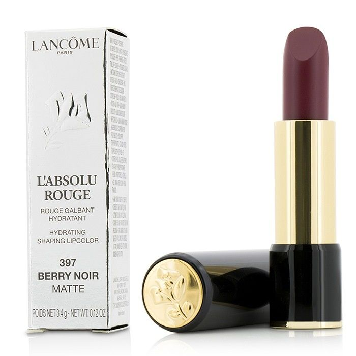 LANCÔME - L'Absolu Rouge Hydrating Shaping Lipcolor in color 397 Berry Noir