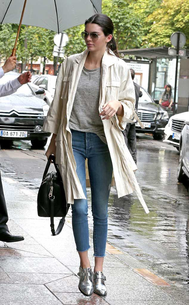 Kendall Jenner from The Big Picture: Today's Hot Pics The reality star is seen out and about in Paris.