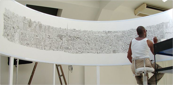 Meet Stephen Wiltshire an artist who can memorize an entire city landscape in 20-30 minutes (from the view of a helicopter or top of a tall building) and sketch a picture of it in minute detail. What makes it even more amazing is that he's autistic....Everyone has a talent that needs to be expressed, what's yours?