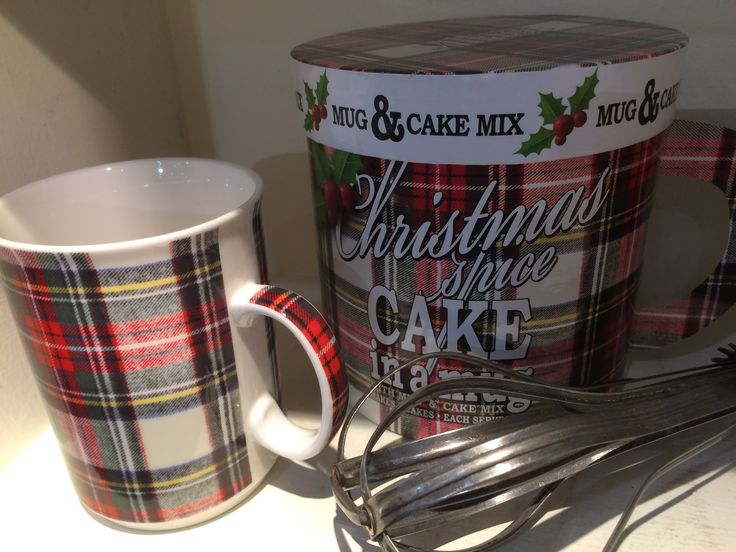 Christmas Spice Cake in a Mug, new for the holidays #gourmetduvillage