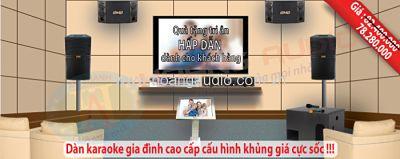 Dàn Karaoke gia đình hay với giá bán và chất lượng tốt nhất tại việt…