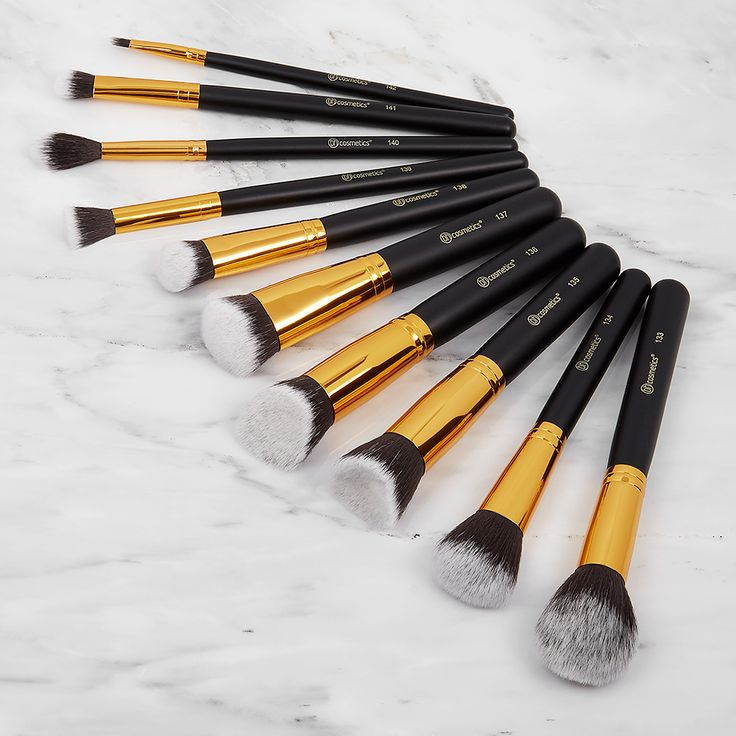 how to use bh cosmetics brushes