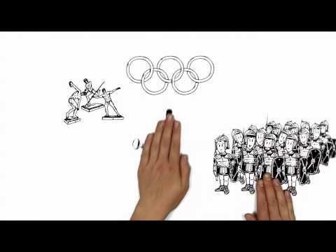 So liefen die ersten Olympischen Spiele ab - YouTube