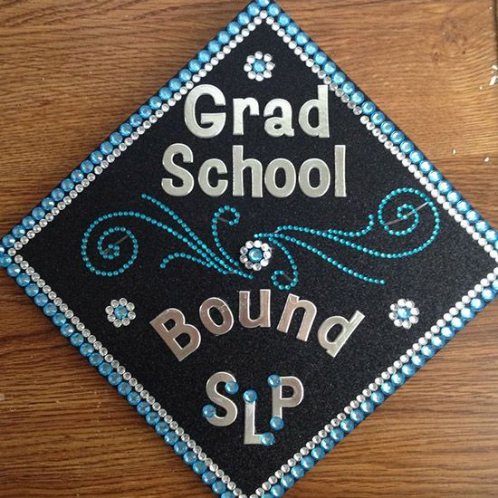 Blingy Bow Graduation Cap  20 Awesome Graduation Cap Ideas