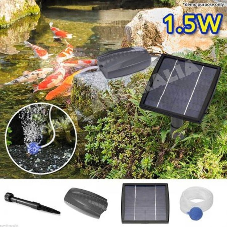 105 best water pumps images on pinterest for Solar fish for pools