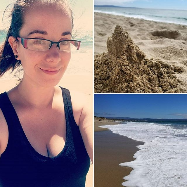 Beach day! #ocean #marinastatebeach #marinaca #california #beautifulday #sandcastle #waves #soakupthesun #lovelife #goodcompany #happygirl #marinalocals #montereybaylocals - posted by Caitlin Tungate https://www.instagram.com/casualfrmlty - See more of Marina, CA at http://marinalocals.com