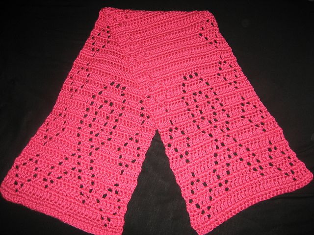 Free Crochet Pattern For Breast Cancer Awareness Scarf : 7 Best images about Crochet Breast Cancer Awareness on ...