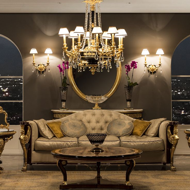 Luxury living room from our Singular Pieces Collection by Mariner Luxury Furniture u0026 Lighting. & 21 best SINGULAR PIECES images on Pinterest | Luxury furniture ... azcodes.com