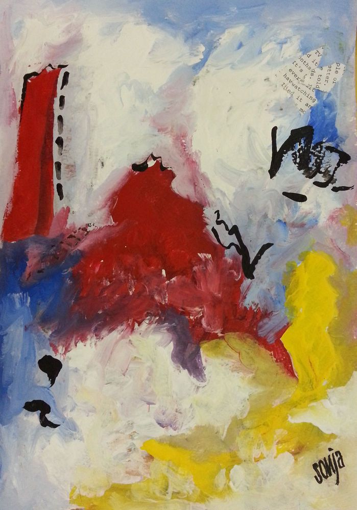 Reunite - Abstract art #Abstract
