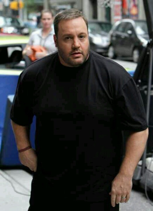 Kevin James - I have seen some episodes of King of Queens 5 or more times.  He's funny.