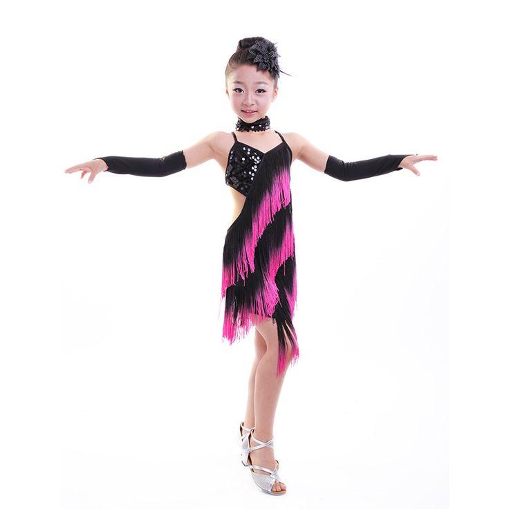 Robe danse latine fille - Le disque a plumes 4e5d4a029b8