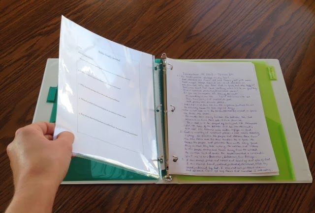 How to Keep A Bible Study Journal (Part 2 of 3)