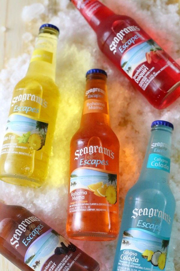 The Sweetest occasion shows us how to make Seagram's Escapes snow cones!