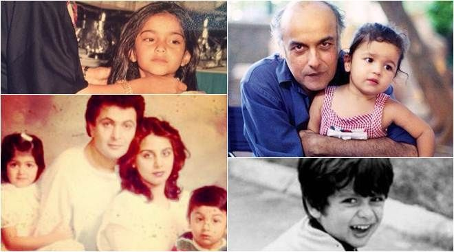 Happy Children's Day These childhood photos of Bollywood celebrities will leave you surprised - The Indian Express #757Live