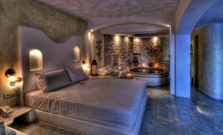 Our #HoneymoonSuite at #AstarteSuites. Elegance, beauty and tranquility...