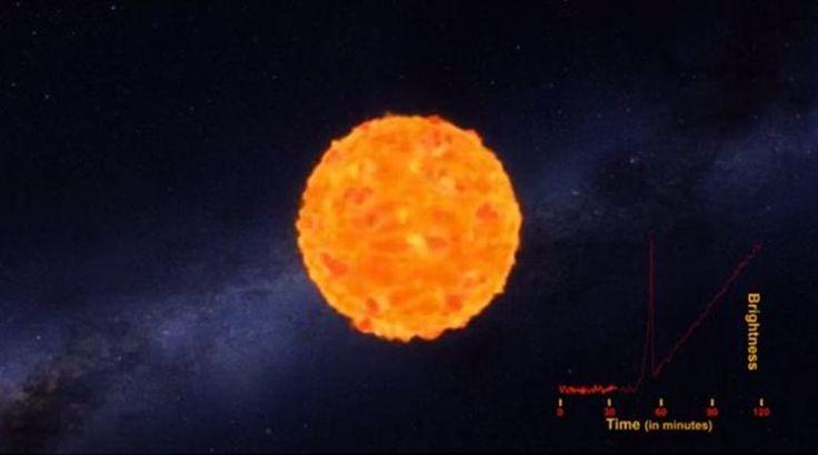 «Κοσμικό» λαχείο για ερασιτέχνη αστρονόμο: Φωτογράφισε το αρχικό φως έκρηξης σούπερ-νόβα!