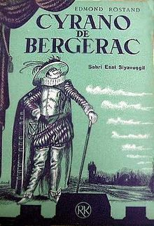 Cyrano de bergerac.  We did this as readers theater in my AP high school class.  So romantic!